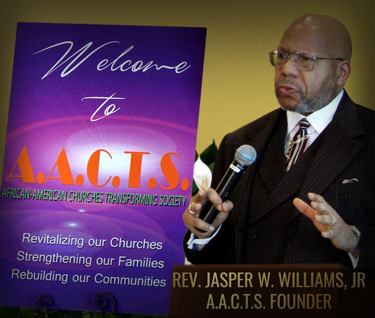 AACTS Rev Jasper Williams
