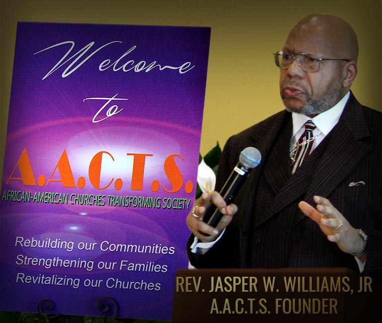Reverend Jasper Williams - AACTS Founder